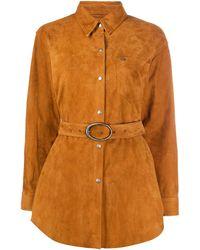 Giuseppe Zanotti Куртка-рубашка - Коричневый