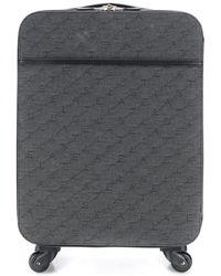 Stella McCartney Koffer mit Logos - Grau