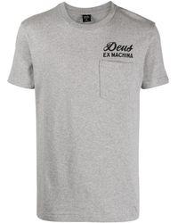 Deus Ex Machina ロゴ Tシャツ - グレー