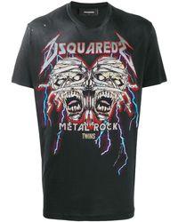 DSquared² - ダメージ Tシャツ - Lyst