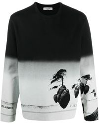 Valentino Floating Island スウェットシャツ - ブラック