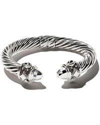 David Yurman Renaissance Cable Cuff Bracelet - Multicolour