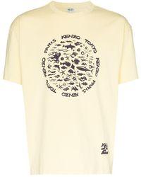 KENZO - Sea ロゴプリント Tシャツ - Lyst