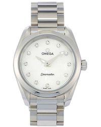 Omega 2020 Unworn Seamaster Aqua Terra 28mm - White