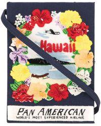 Olympia Le-Tan Bolso de mano estilo libro Hawaii