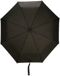 Mackintosh Parapluie automatique à carreaux - Marron