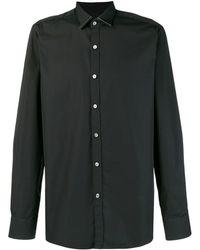 Lanvin メタルトリム シャツ - ブラック