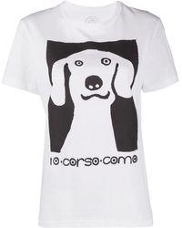 10 Corso Como グラフィック Tシャツ - ホワイト