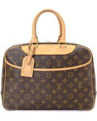Louis Vuitton Сумка-тоут Deauville Pre-owned - Коричневый