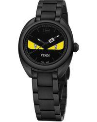 Fendi バッグバグズ 腕時計 - ブラック