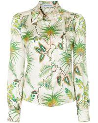 Adriana Iglesias - Tropical Print Shirt - Lyst