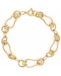 BONVO 18kt Gold-plated Silver Gaia Bracelet - Metallic