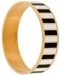 Givenchy - Monochrome Striped Bracelet - Lyst
