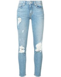 10 Crosby Derek Lam Devi Mid-rise Authentic Skinny - Blue