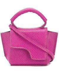 Atp Atelier Arezzo Mini Tote Bag - Pink