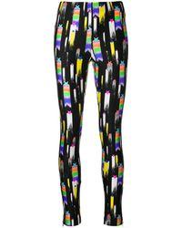 Gucci Star Print Jersey leggings - ブラック