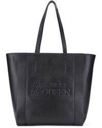 Alexander McQueen - Сумка-шопер С Логотипом - Lyst