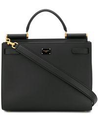 Dolce & Gabbana Сумка-тоут Sicily 62 - Черный