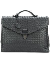Bottega Veneta Crocodile Leather Briefcase