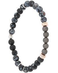 Tateossian Stonehenge Bracelet - Black