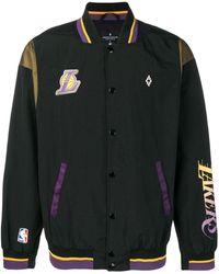 Marcelo Burlon X Nba La Lakers ボンバージャケット - ブラック