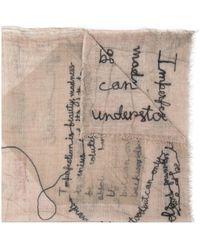 Faliero Sarti Envelop スカーフ - マルチカラー