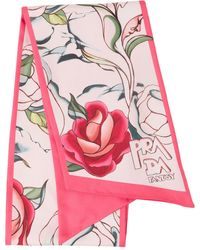 Prada ダブルマッチ スカーフ - ピンク