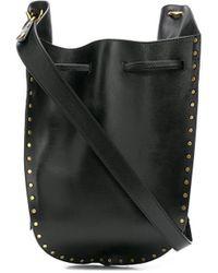 Isabel Marant Taj Satchel Bag - Black