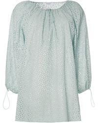 Marysia Swim Платье Мини 'moab' С Открытыми Плечами - Синий