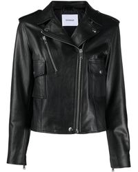Dondup ライダースジャケット - ブラック