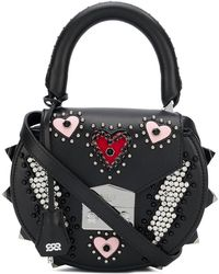 Salar - Mimi Thunder Hearts Bag - Lyst