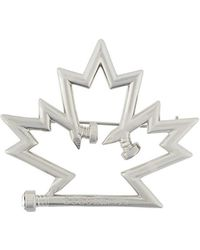DSquared² - Maple Leaf Pin - Lyst
