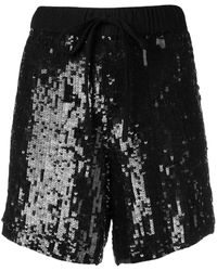 P.A.R.O.S.H. - Sequin-embellished Shorts - Lyst