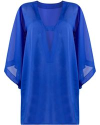 Wolford Hemera Mini Beach Cover-up - Blue