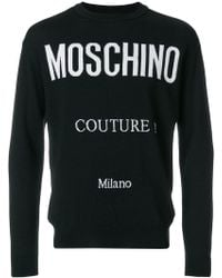 Moschino - Couture Milano Sweater - Lyst