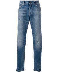 Dolce & Gabbana スリムジーンズ - ブルー