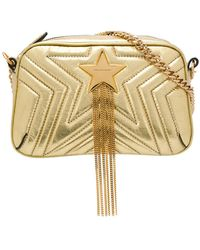 Stella McCartney - Star Embellished Crossbody Bag - Lyst