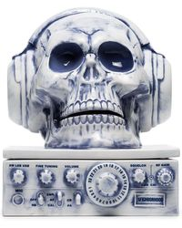 Neighborhood Skull With Headphones Incense Burner - Blue