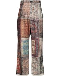 Children of the discordance Personal Patchwork Trousers - Multicolour