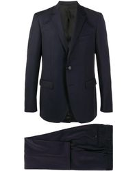 Lanvin シングル テーラードスーツ - ブルー