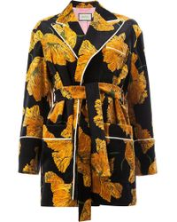 Gucci - Oversized Printed Jacket - Lyst