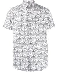 Fendi ロゴ シャツ - マルチカラー