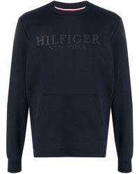 Tommy Hilfiger - ロゴ ロングスリーブトップ - Lyst