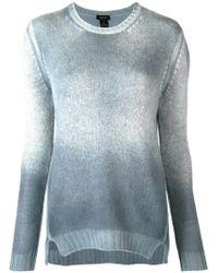 Avant Toi - Knit Ombré Sweater - Lyst