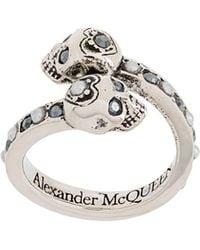 Alexander McQueen - スカル リング - Lyst