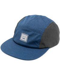 Acne Studios Бейсболка С Нашивкой-логотипом - Синий