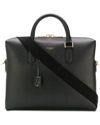 Dolce & Gabbana レザーブリーフケース - ブラック
