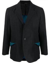 Issey Miyake シングルジャケット - ブラック