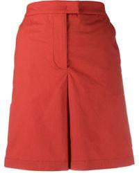 Fay Shorts taglio straight - Rosso