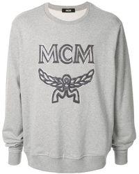 MCM ロゴ スウェットシャツ - グレー
